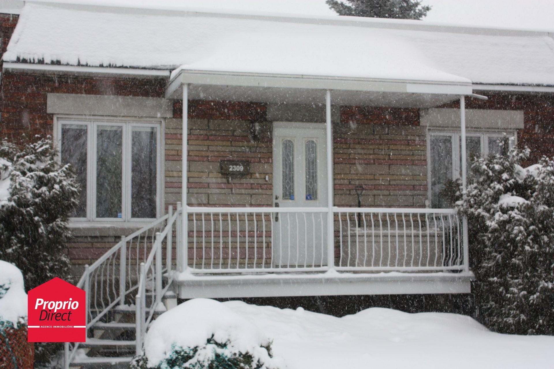 Maison de plain pied vendre 2309 rue monsabr mercier for Acheter un maison a montreal